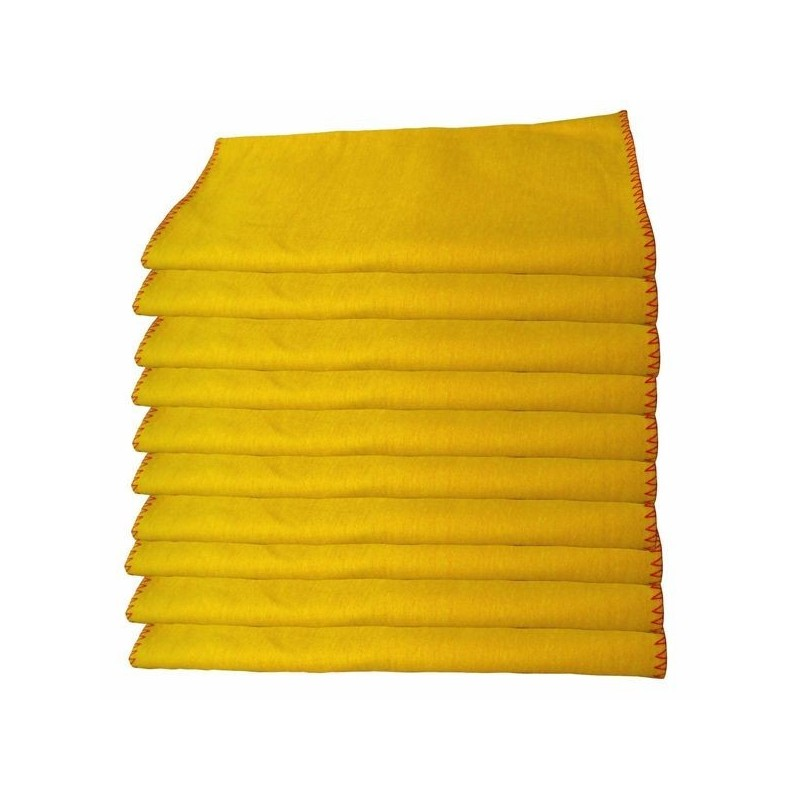 Yellow Dusters 500 x 400mm