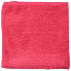 Microfibre Cloths 280gsm - Red (Pack Of 20 Cloths)