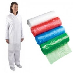 WhiteAprons On A Roll (Case Of 5 x 200 Aprons)