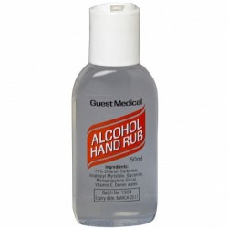 Alcohol Hand Rub 50ml With (rocker) top (Case Of 50)