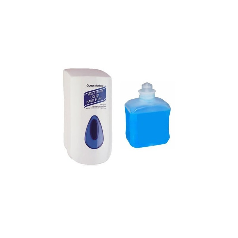 Guest Medical Wall Mounted Dispenser (Pack Of 1)