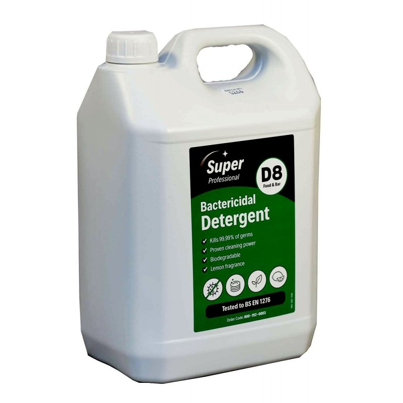 Washing Up Liquid With Bactericide 15% (2 x 5 Litres)