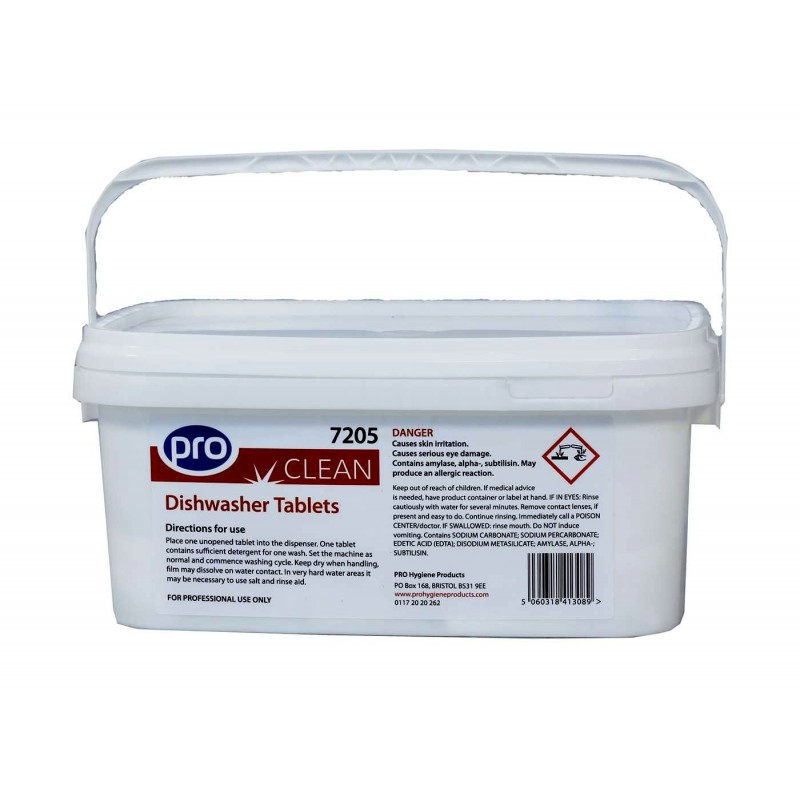 Professional Dishwasher Tablets (Tubs Of 150)