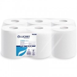 Lucart Strong Pure Pulp Centrefeed Rolls